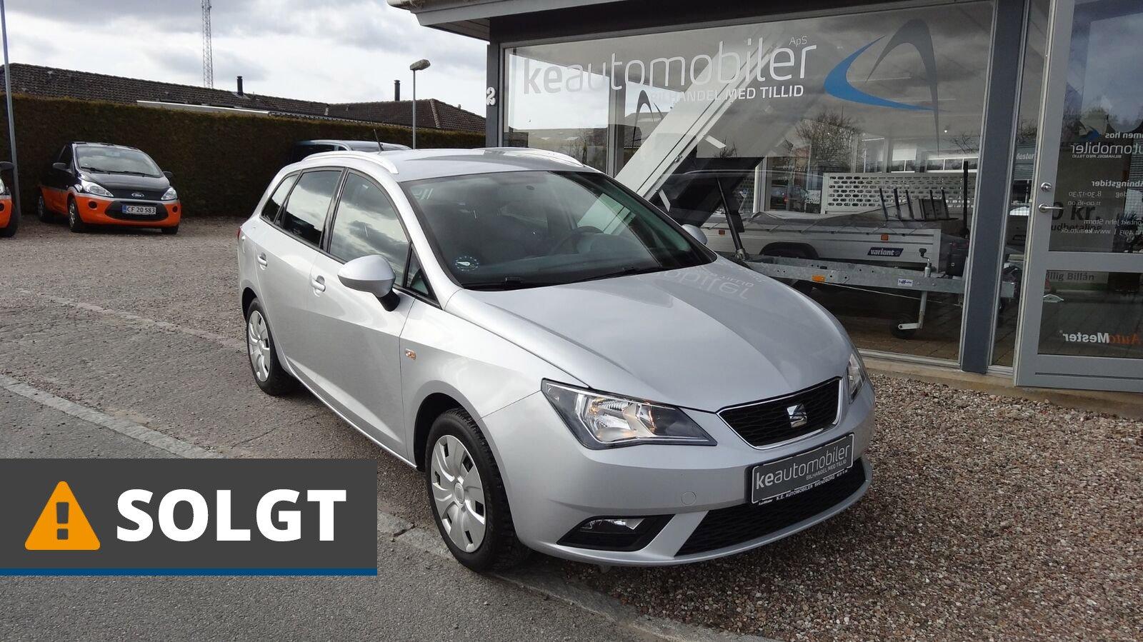 Seat Ibiza TSi 105 Style ST Eco 1,2 Benzin 105 Hk (2014) // SOLGT