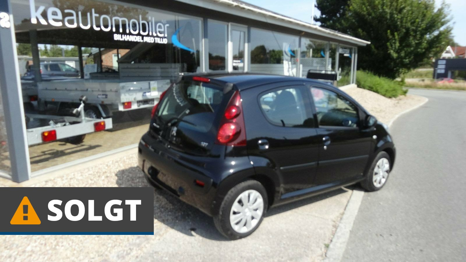 Peugeot 107 Cool 1,0 Benzin 68 Hk (2013) // SOLGT