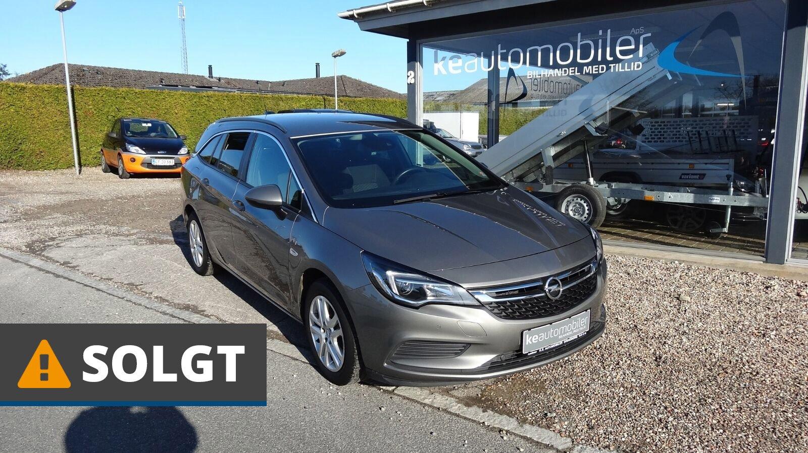 Opel Astra T 105 Enjoy Sports Tourer 1,0 Benzin 105 Hk (2017) // SOLGT