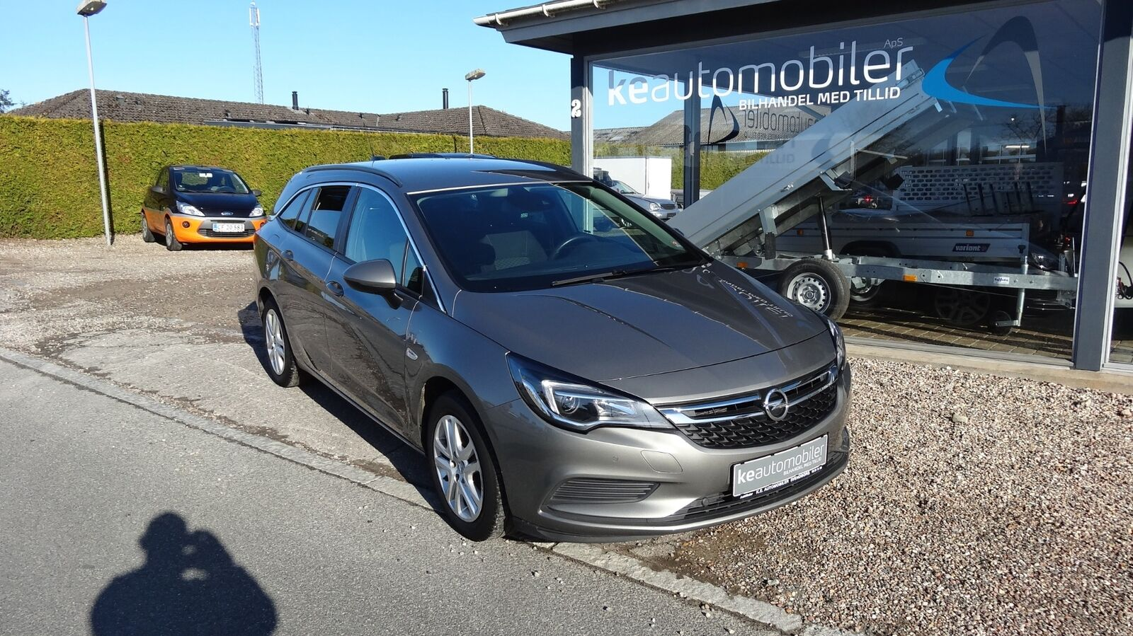 Opel Astra T 105 Enjoy Sports Tourer 1,0 Benzin 105 Hk (2017)
