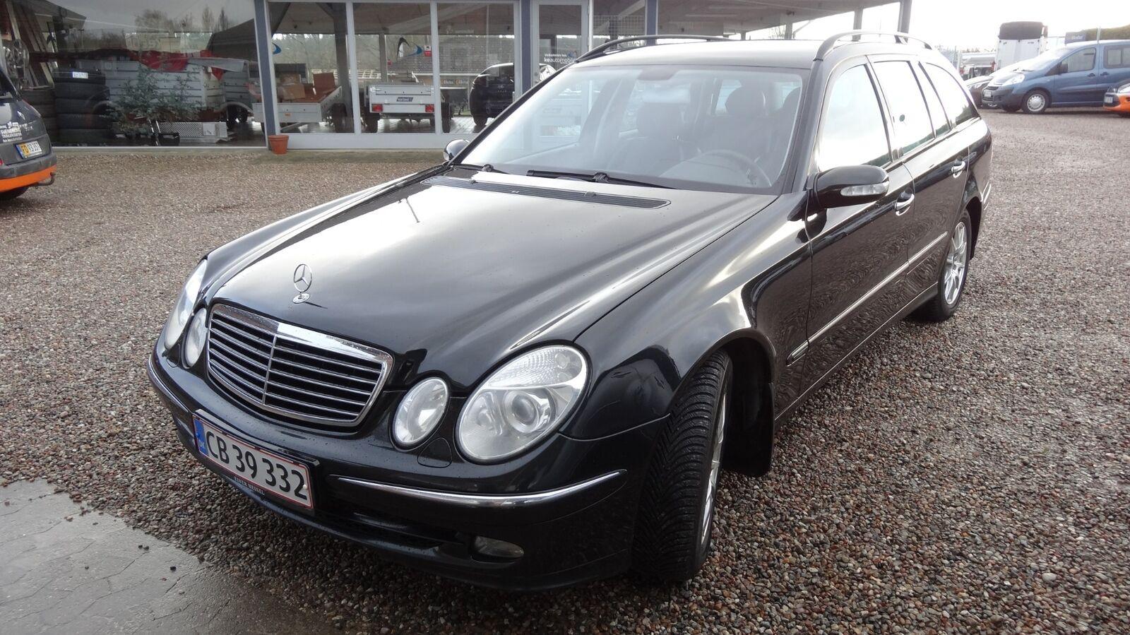 Mercedes E320 CDi Avantgarde Stc. Aut. 3,2 Diesel 204 Hk (2004)