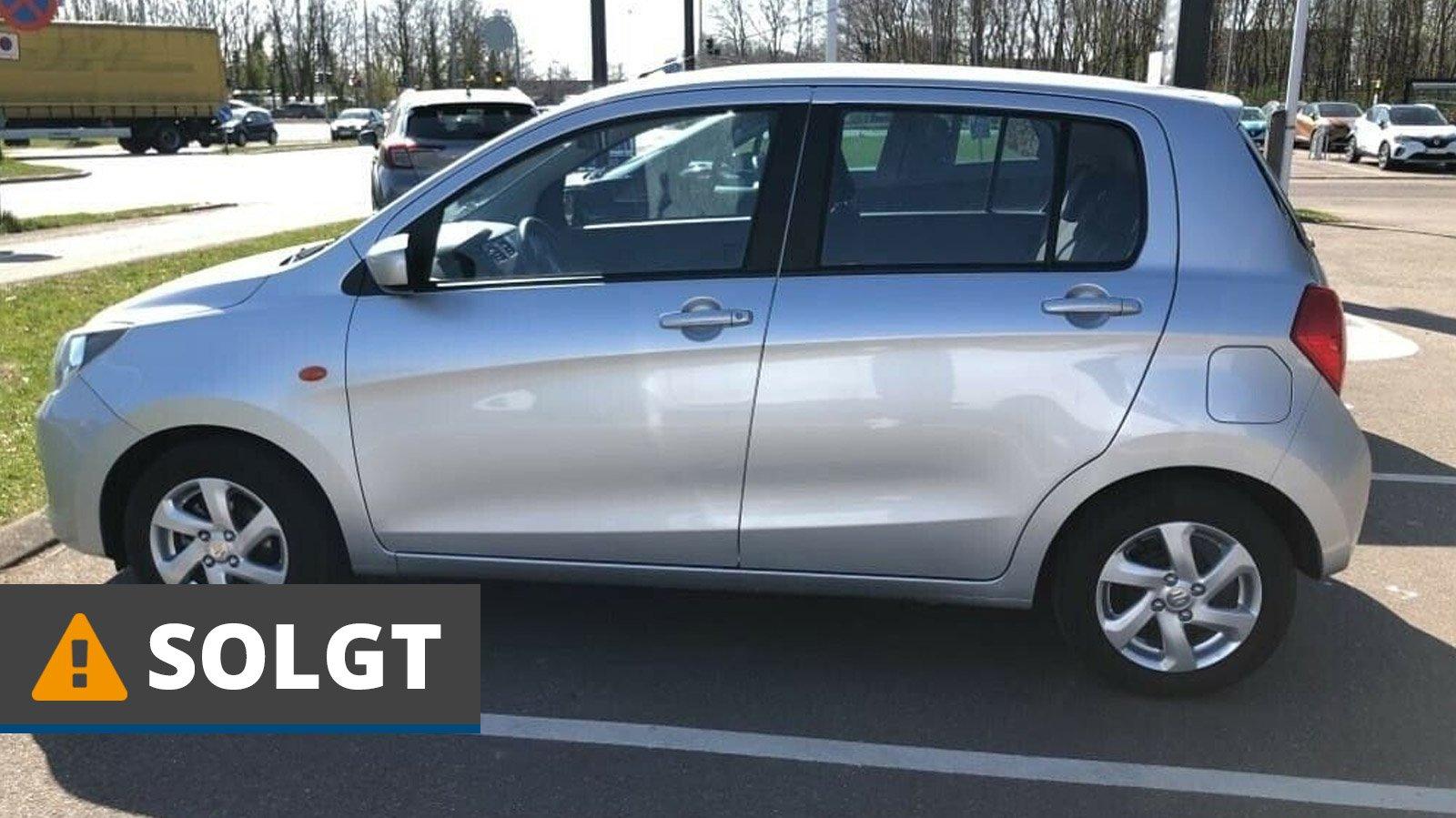 Suzuki Celerio Dualjet Exclusive 1,0 Benzin 68 Hk (2018) // SOLGT