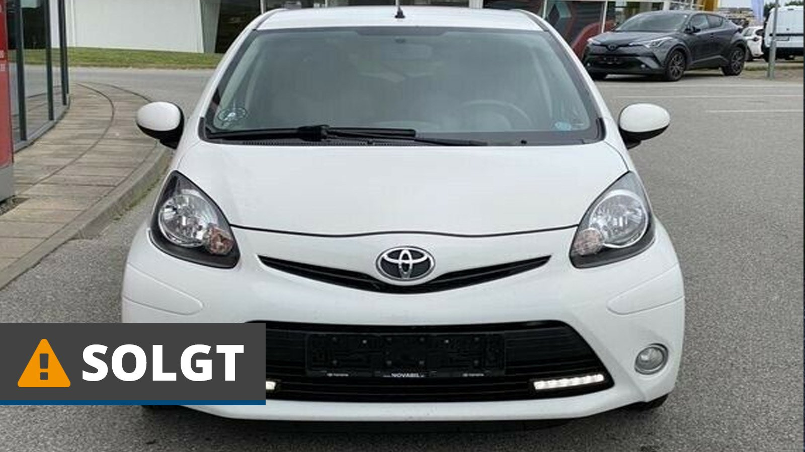Toyota Aygo VVT-i T2 Air 1,0 Benzin 68 Hk (2012) // SOLGT