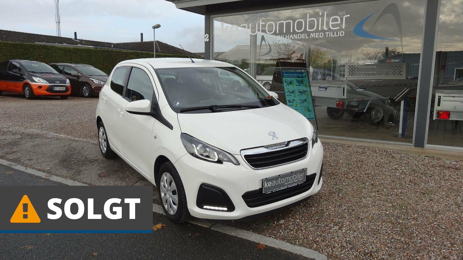 Peugeot 108 E-VTi 69 Active 1,0 Benzin 69 Hk (2015)