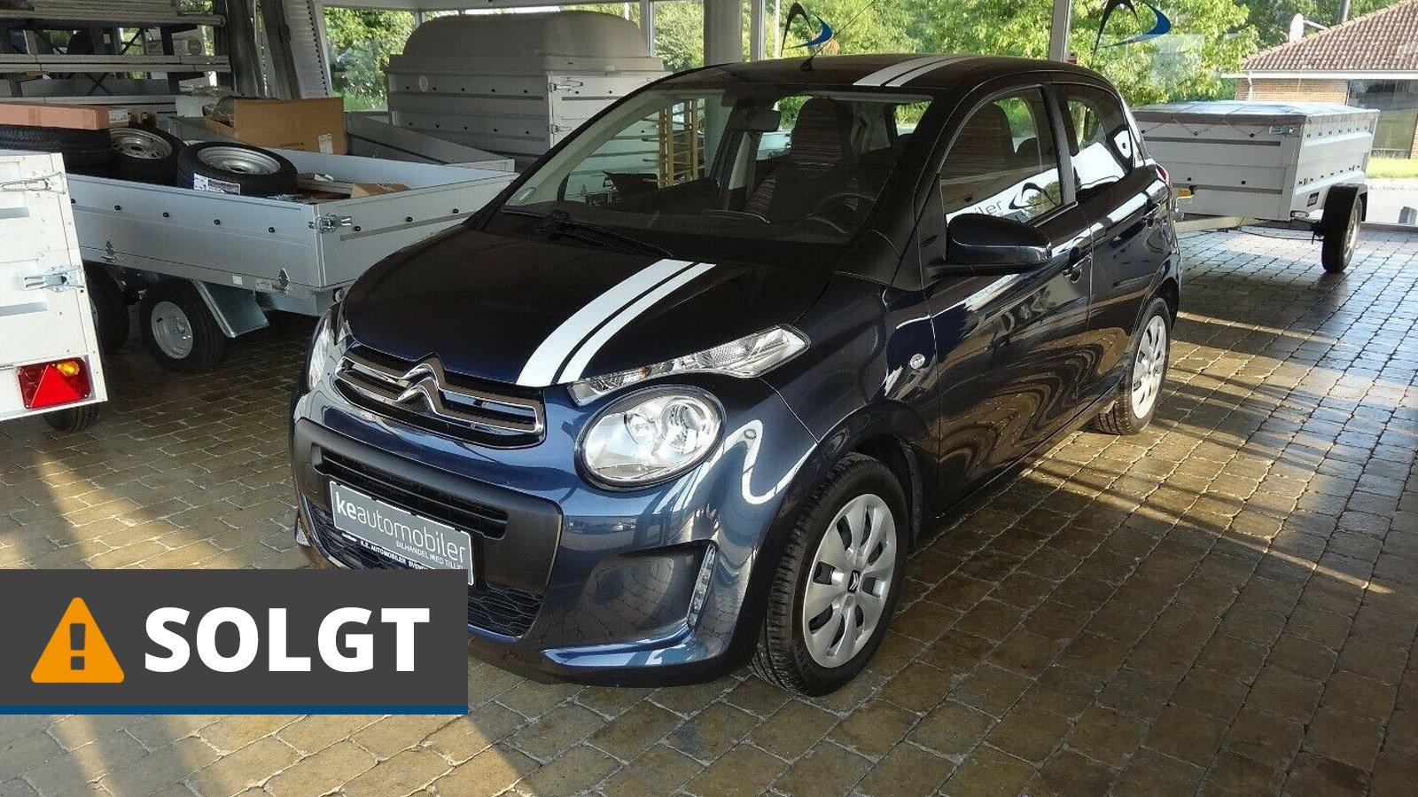 Citroën C1 PureTech 82 Sport 1,2 Benzin 82 Hk (2017) // SOLGT