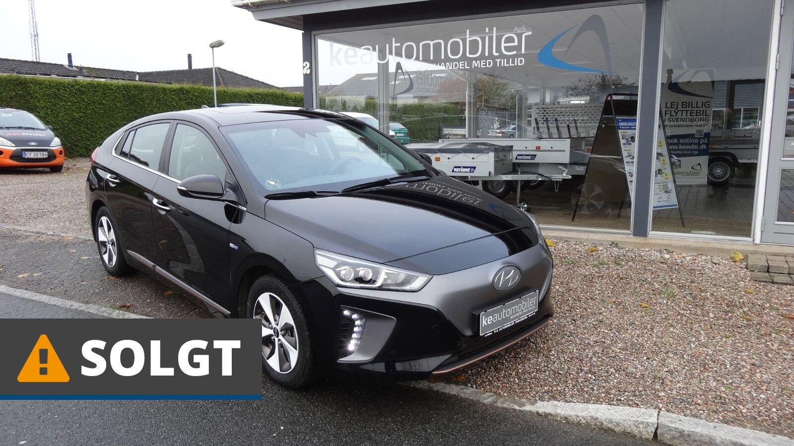 Hyundai Ioniq EV Premium  El 120 Hk (2017) // SOLGT