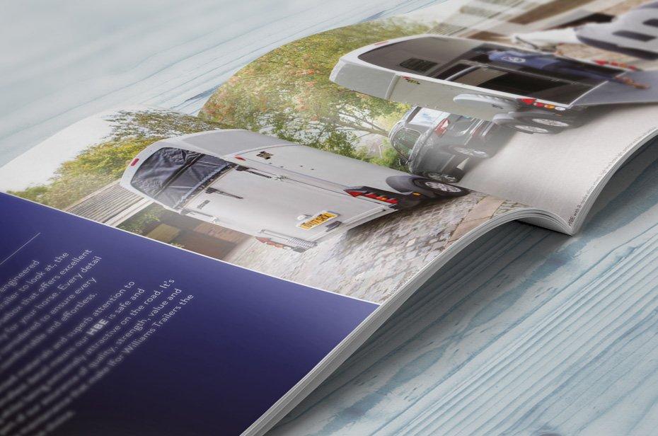 HBE hestetrailer brochure