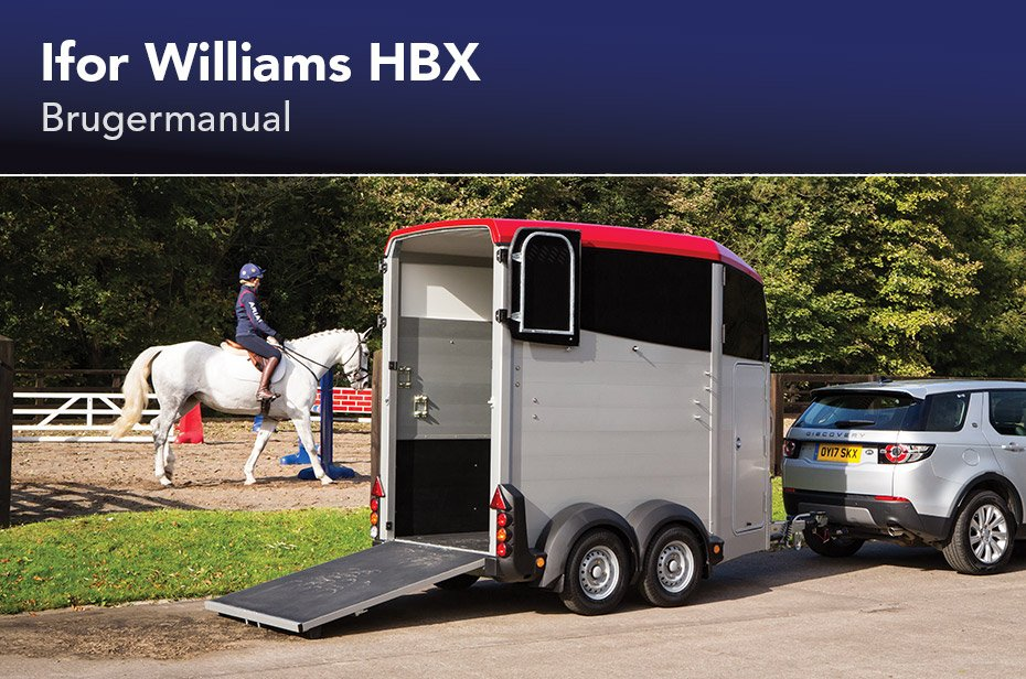 Ifor Williams HBX