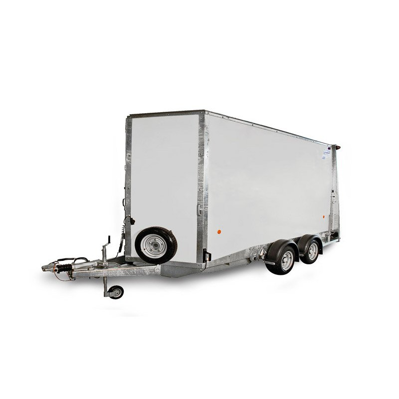 Ifor Williams BV126 Kassetrailer