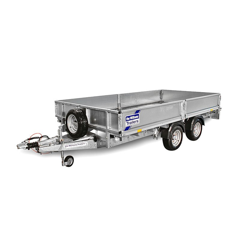 Ifor Williams LM146 Ladtrailer