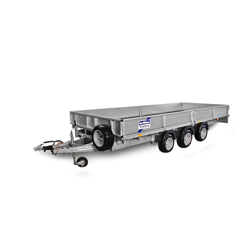 Ifor Williams LM208 Ladtrailer