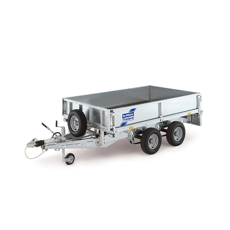 Ifor Williams LT125 Ladtrailer
