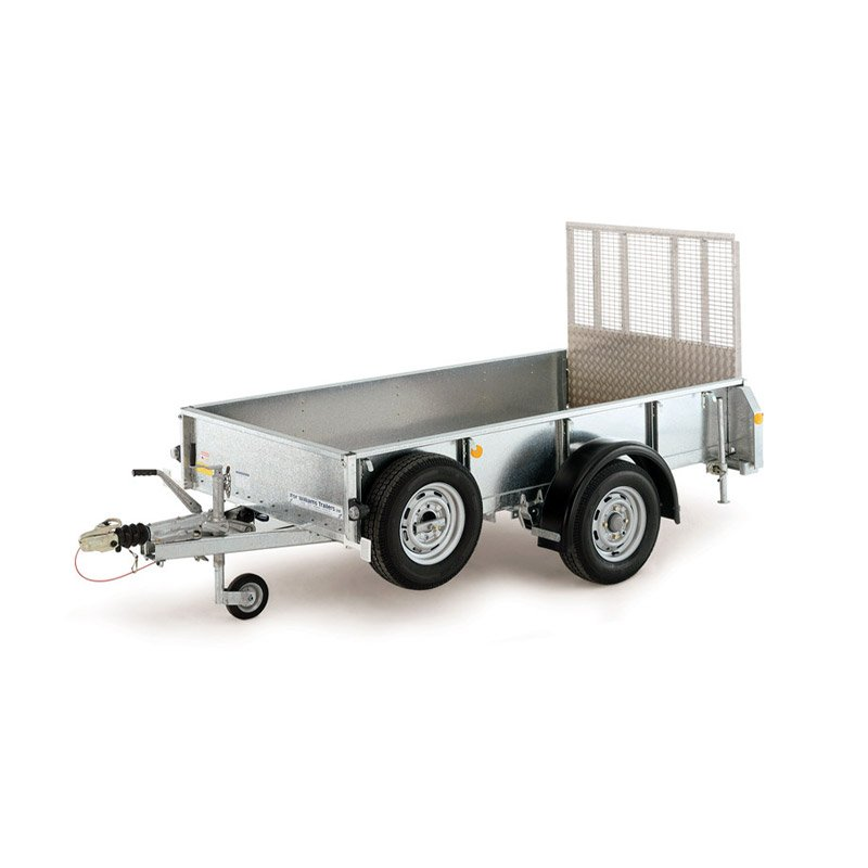 Ifor Williams GD84 Maskintrailer