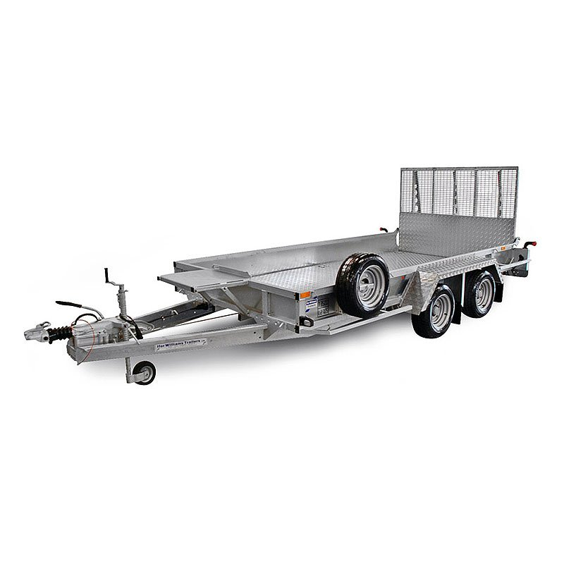 Ifor Williams GP126 Maskintrailer