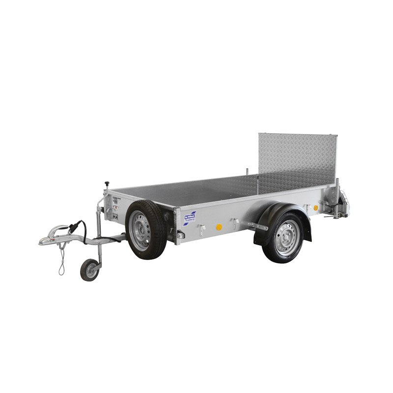 Ifor Williams P5E Ladtrailer
