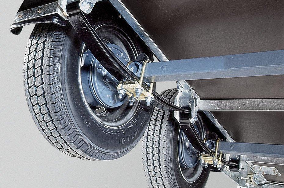 Ekstremt holdbar og komfortabel undervogn